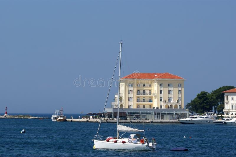 La Croatie, Porec images libres de droits