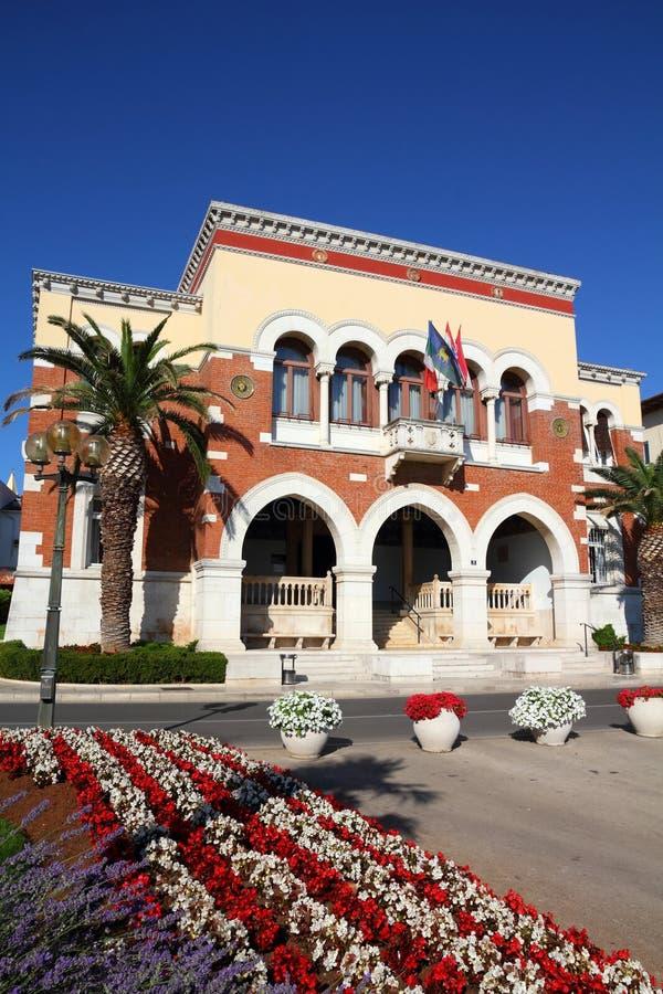 La Croatie - Porec photographie stock libre de droits