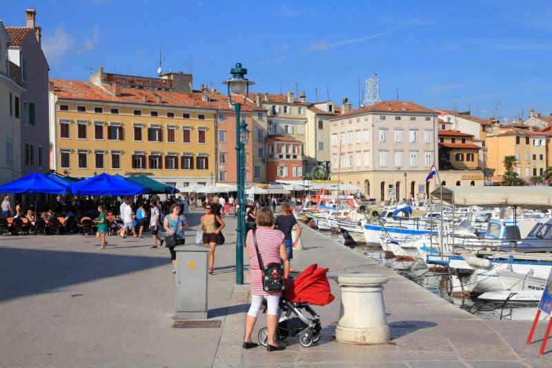 La Croatie - Rovinj image libre de droits