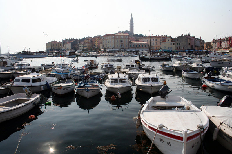 La Croatie-Rovinj photos stock