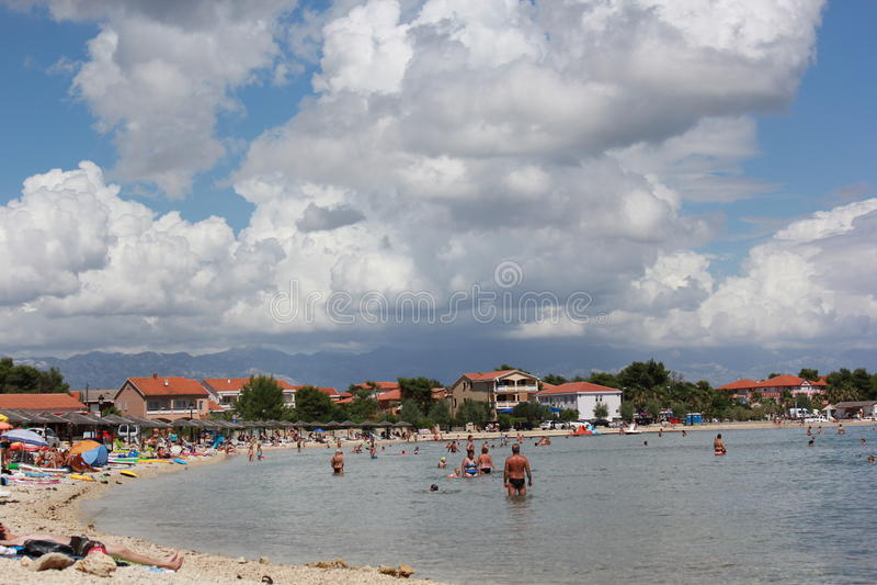 La Croazia - PAG fotografia stock