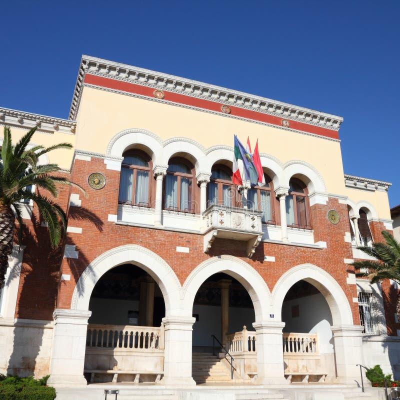 La Croazia - Porec fotografia stock