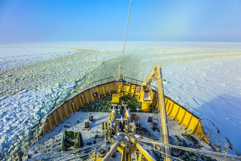 La croisière de touristes arctique images libres de droits