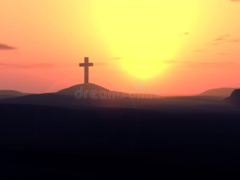 La croix 10 images libres de droits