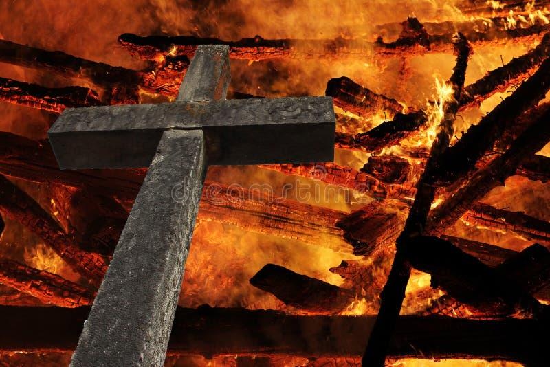 La croix photo stock