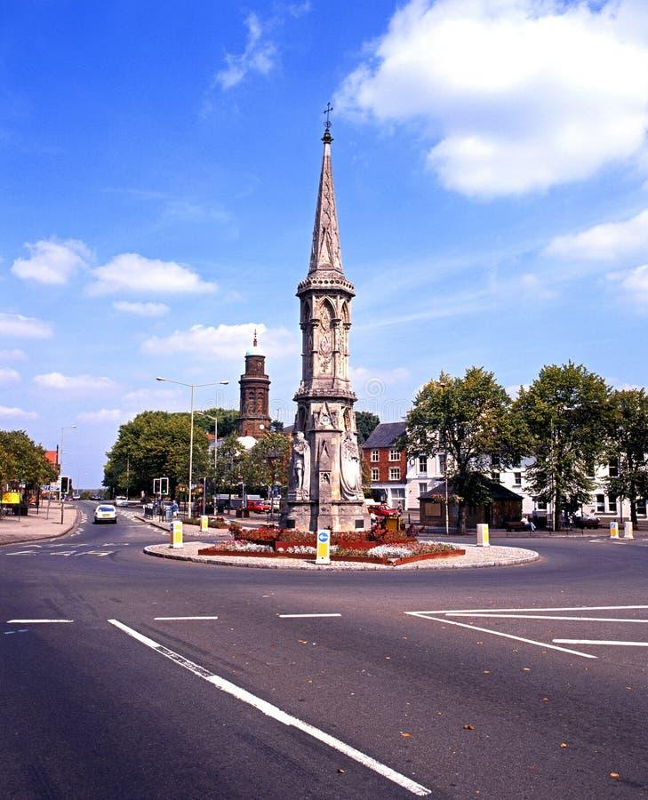 La croix de Banbury images libres de droits