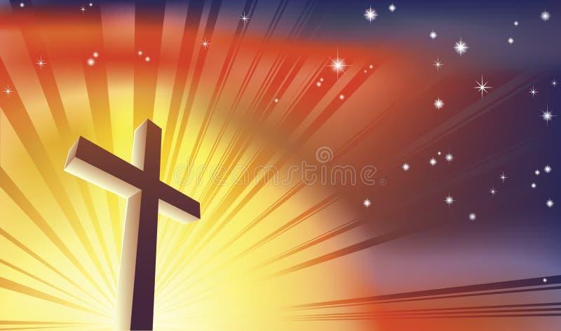 La cruz ilustración del vector