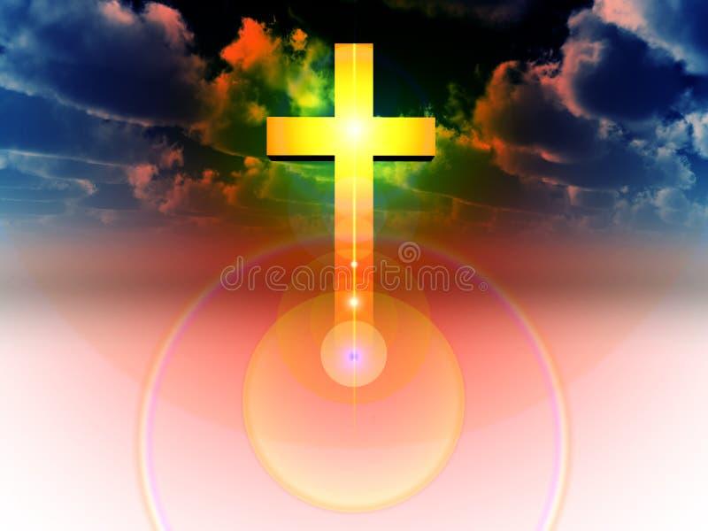 La cruz 29 stock de ilustración