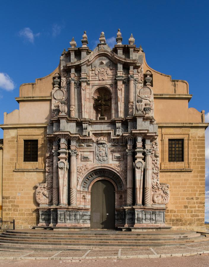 La Cruz Church de Caravaca De fotos de stock