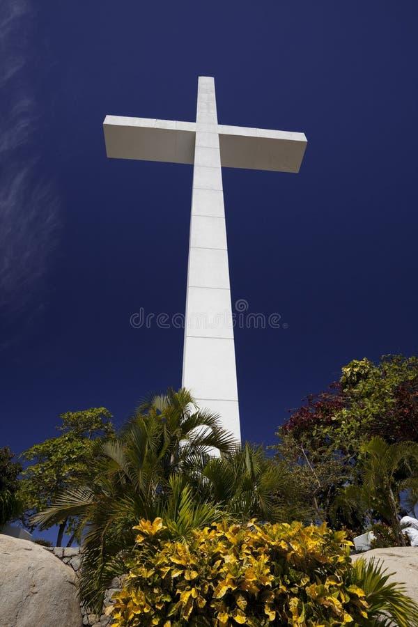 La cruz de Trouyet - Acapulco fotos de archivo