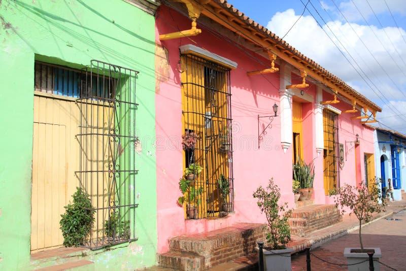 La Cuba - Camaguey immagini stock