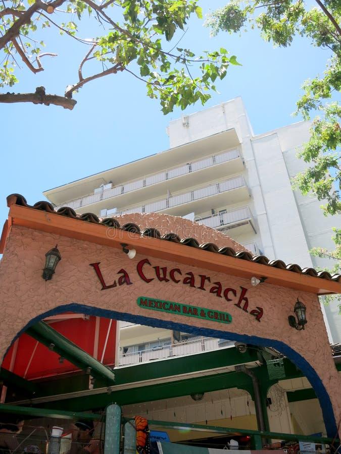 La Cucaracha - Mexican Bar and Grill royalty free stock photo