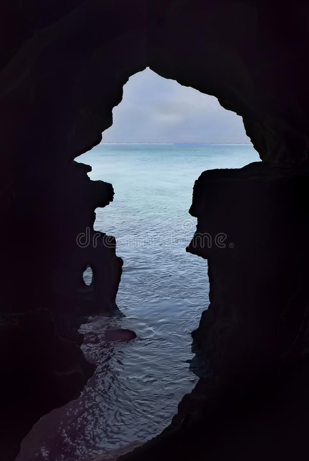 La cueva de Hércules imagenes de archivo