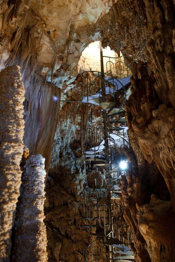 La cueva de Putignano fotografía de archivo libre de regalías
