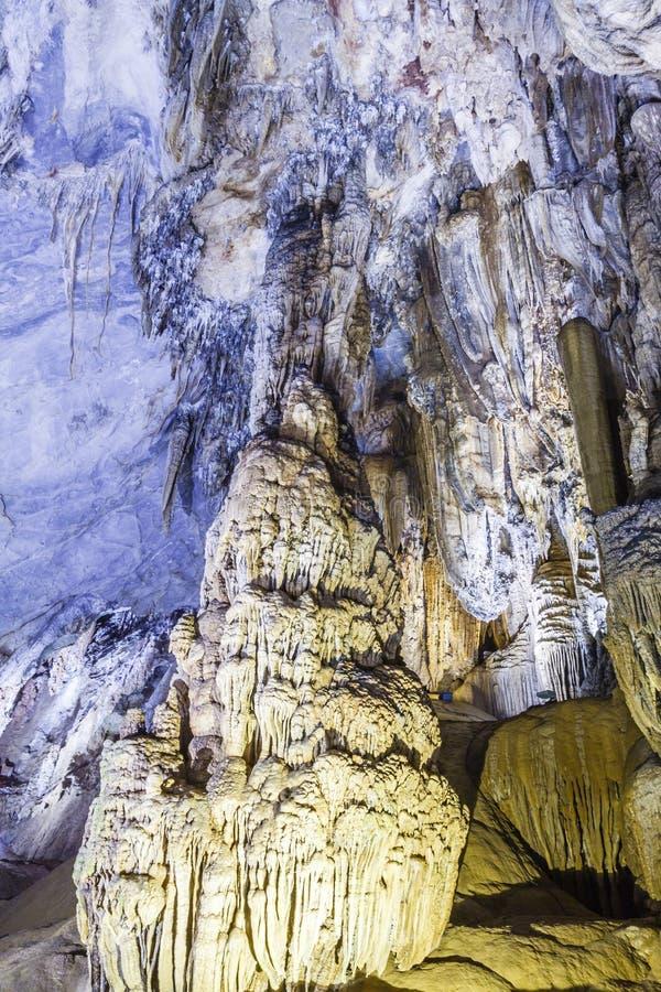 La cueva del paraíso en la explosión de Phong Nha KE imagen de archivo libre de regalías