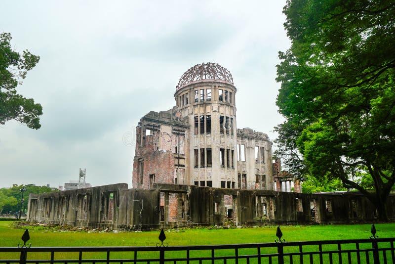 La cupola atomica - Hiroshima - Giappone fotografie stock libere da diritti