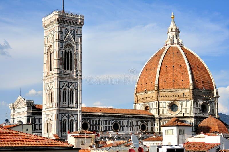 La cupola nella città di Firenze L'Italia immagini stock libere da diritti
