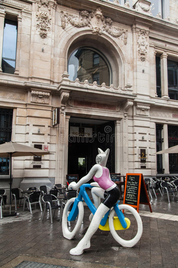 Download La Cycliste Brussels editorial stock photo. Image of restauranti - 26570768