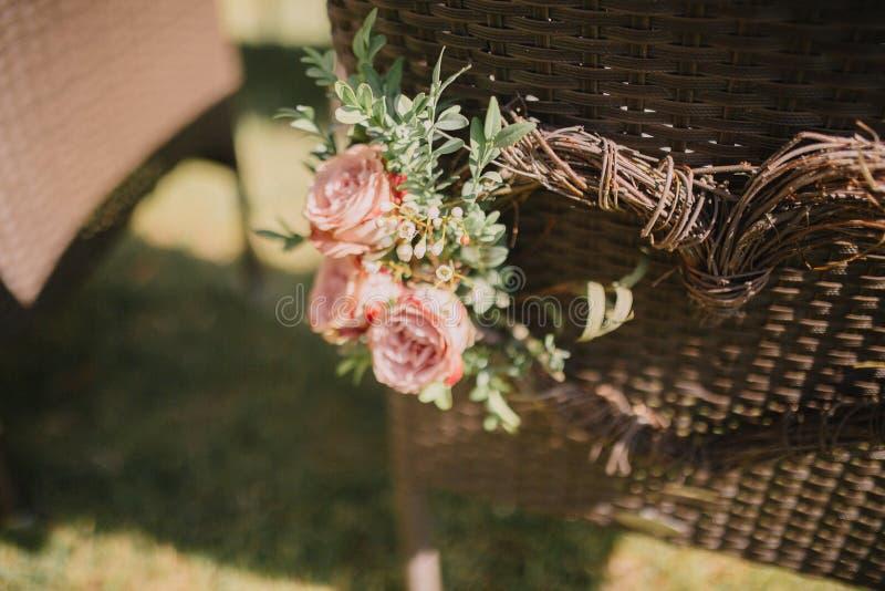 La décoration du mariage photographie stock libre de droits
