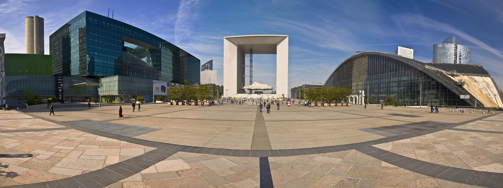 La défense de La de district des affaires de PARIS FRANCE photos stock