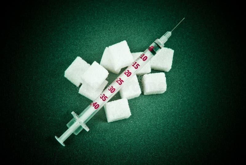 La dépendance d'insuline photographie stock