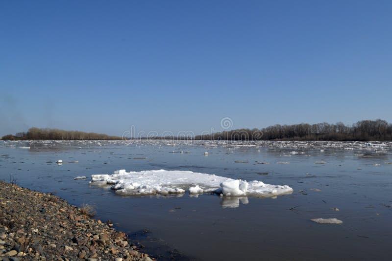 La dérive de glace photos libres de droits