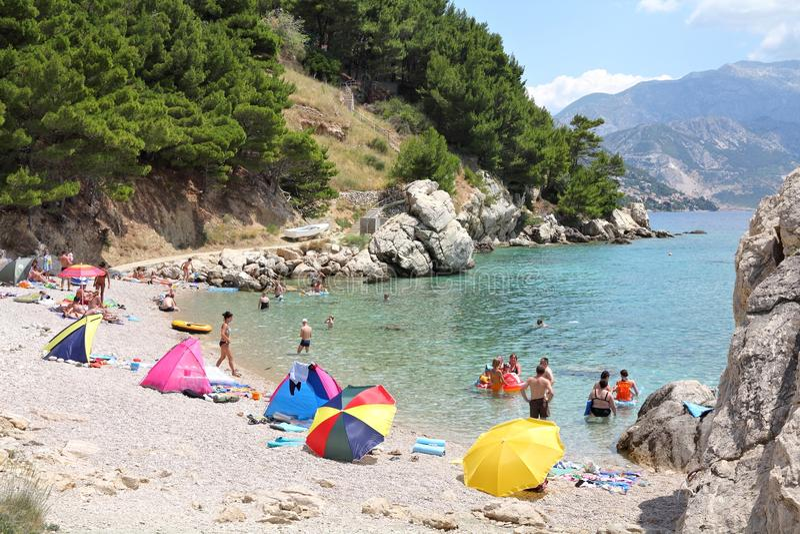 La Dalmatie, Croatie photos stock