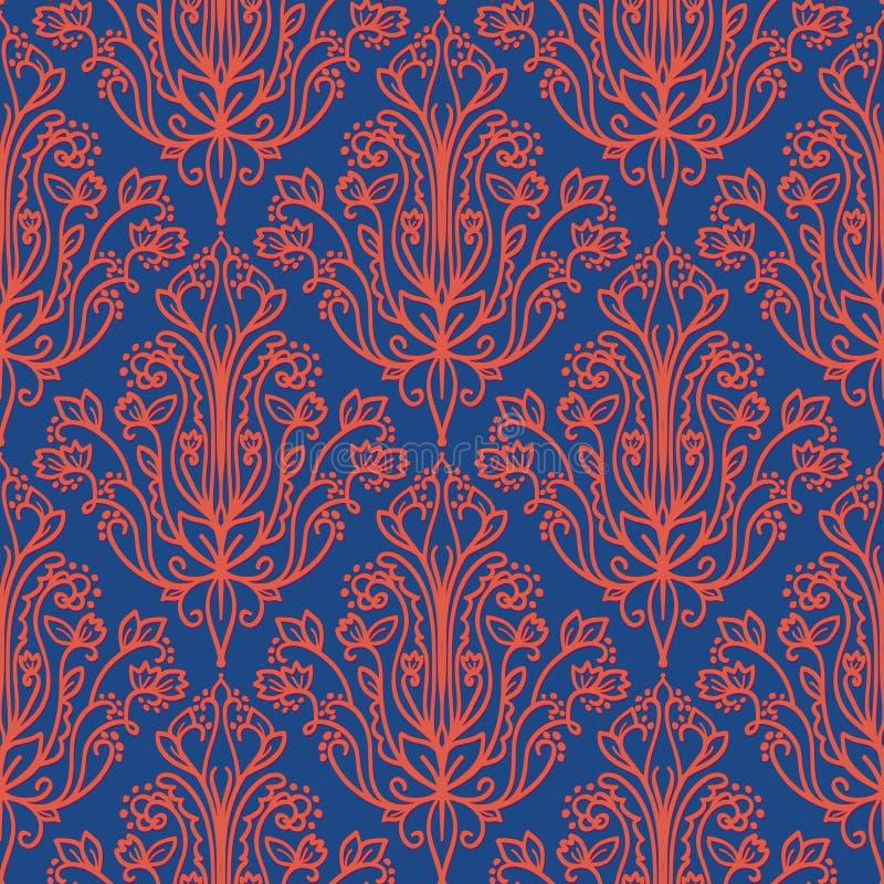 La damassé Wallpaper illustration stock