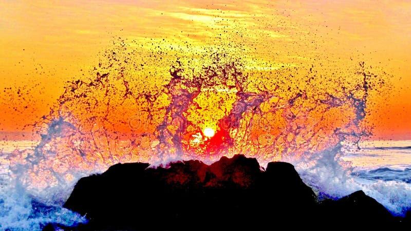 La danse de l'eau image libre de droits
