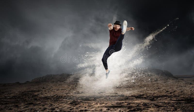La danza es su mundo Técnicas mixtas imágenes de archivo libres de regalías