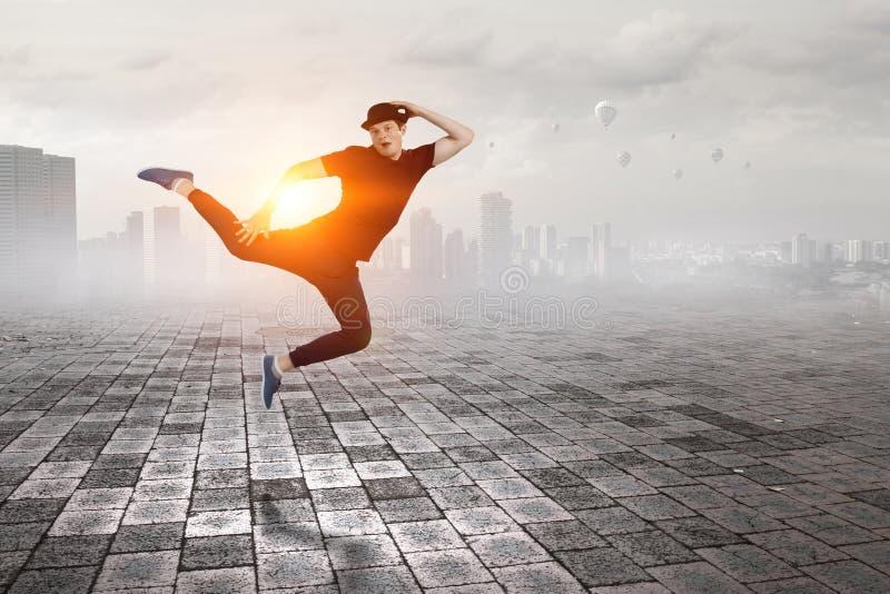La danza es su mundo Técnicas mixtas fotografía de archivo