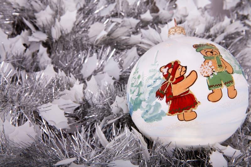 La Decoración De La Navidad Imagen de archivo libre de regalías