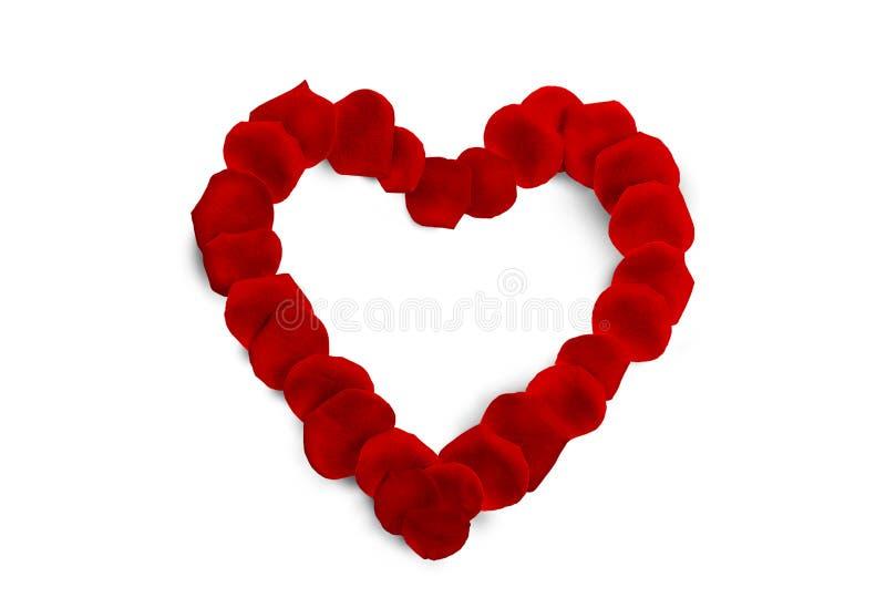 La decoración de la tarjeta del día de San Valentín roja del corazón imágenes de archivo libres de regalías