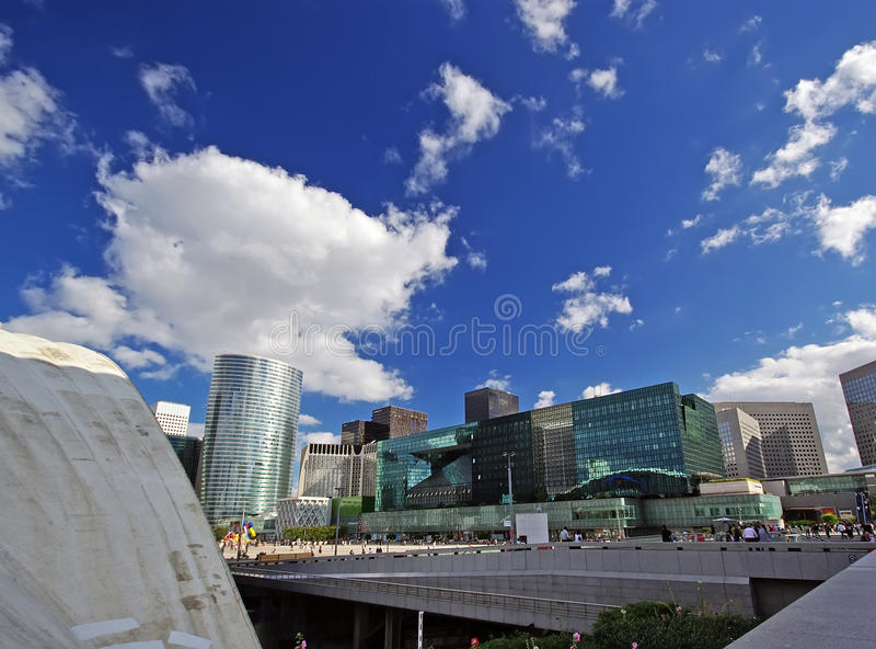 Download La Defense, Paris Stock Photography - Image: 12246252