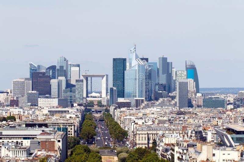 La Defense, Paris, France stock photos