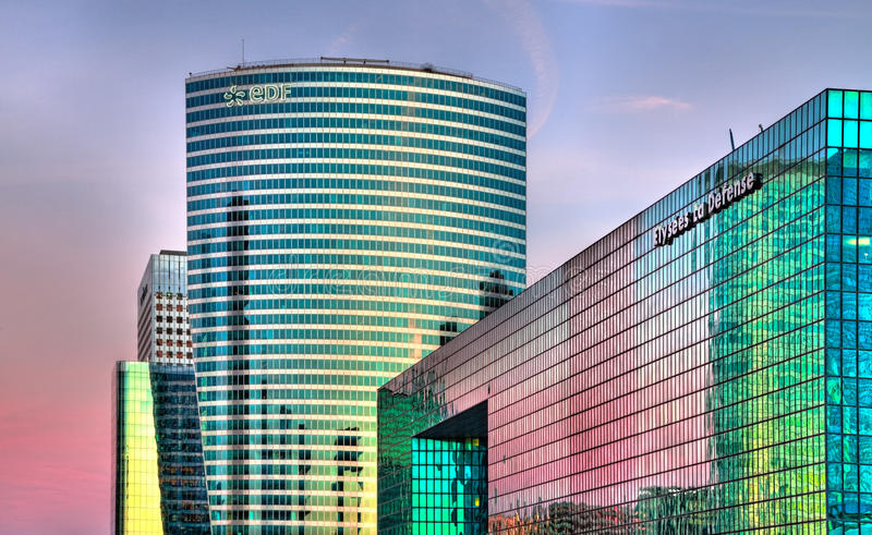 Download La Defense  skylines editorial photo. Image of rise, business - 24284751