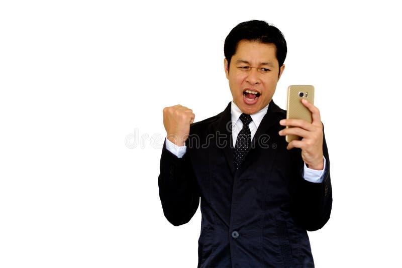 La demostración asiática del hombre agrada imagen de archivo libre de regalías
