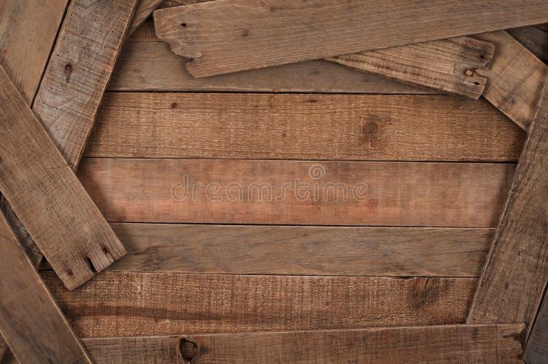 Rústico, fondo de madera del listón del estilo rural foto de archivo libre de regalías