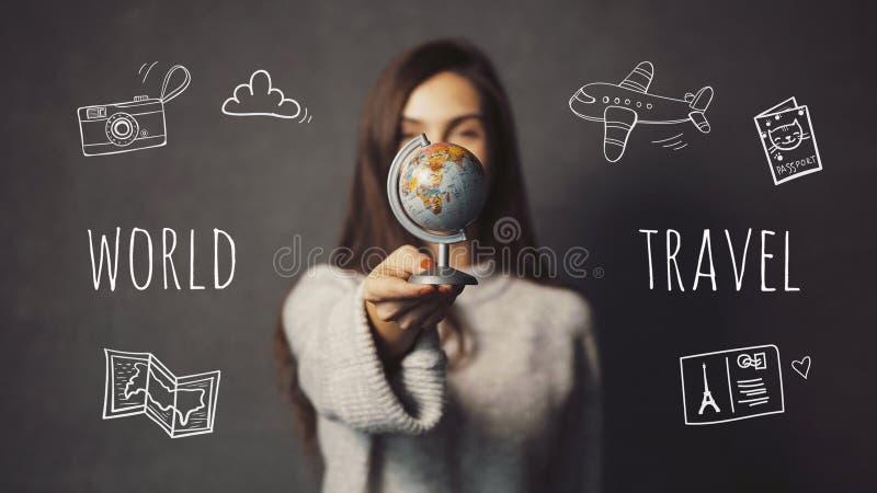 La destination Chosing photo libre de droits