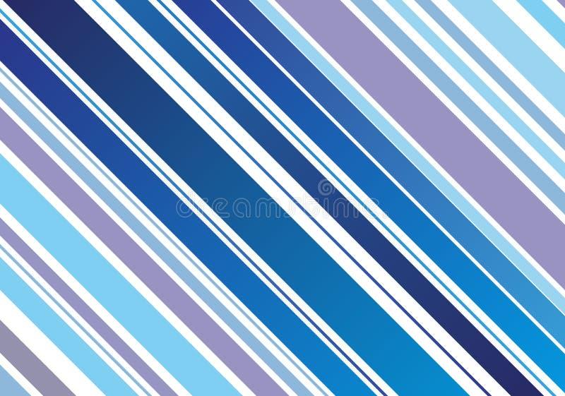 La diagonal alinea el fondo ilustración del vector
