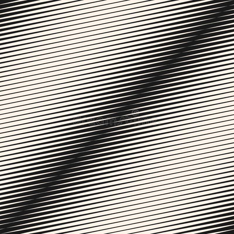 La diagonal de semitono geométrica del vector raya el modelo inconsútil Textura del efecto de la transición de la pendiente stock de ilustración