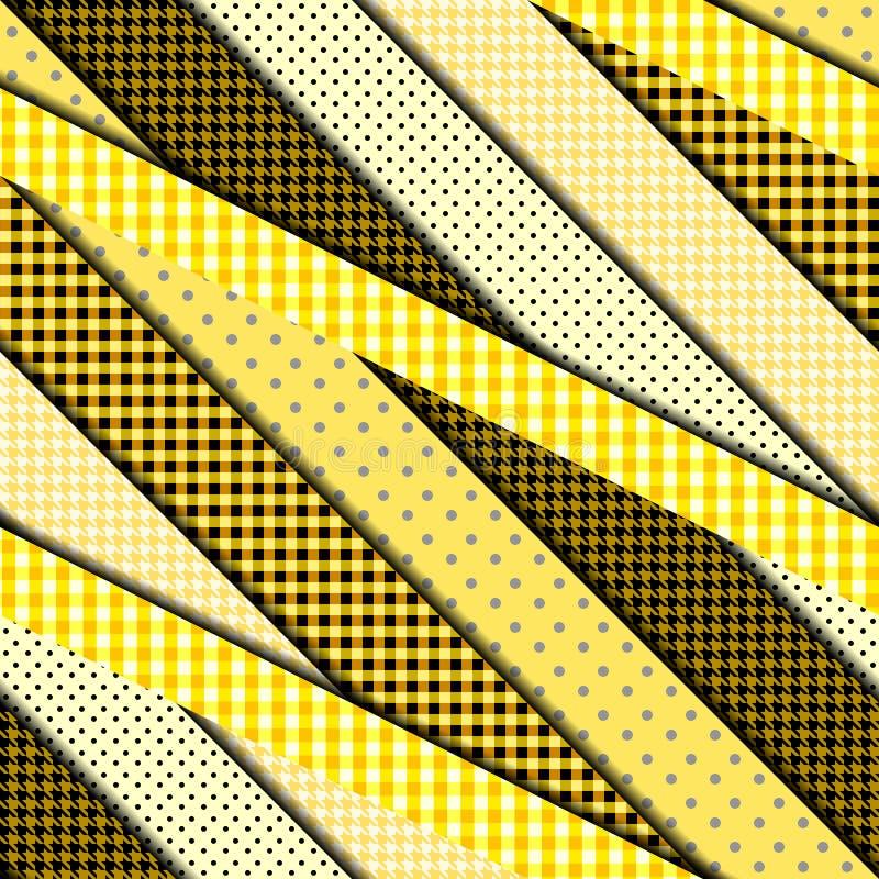 La diagonal pela el modelo stock de ilustración