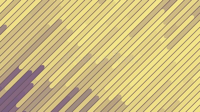 La diagonale allinea il fondo Reticolo geometrico Moto e flusso illustrazione di stock