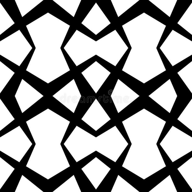 La diagonale allinea il modello ripetibile - Li parallelo diritto obliquo illustrazione vettoriale