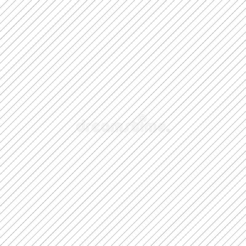 La diagonale allinea il modello ripetibile - Li parallelo diritto obliquo royalty illustrazione gratis