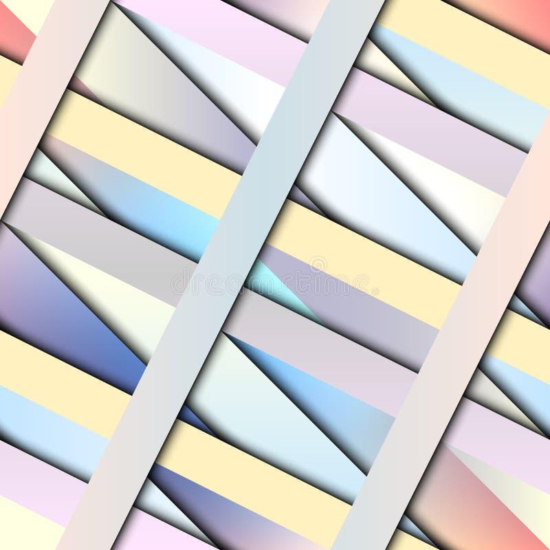 La diagonale spoglia il modello royalty illustrazione gratis