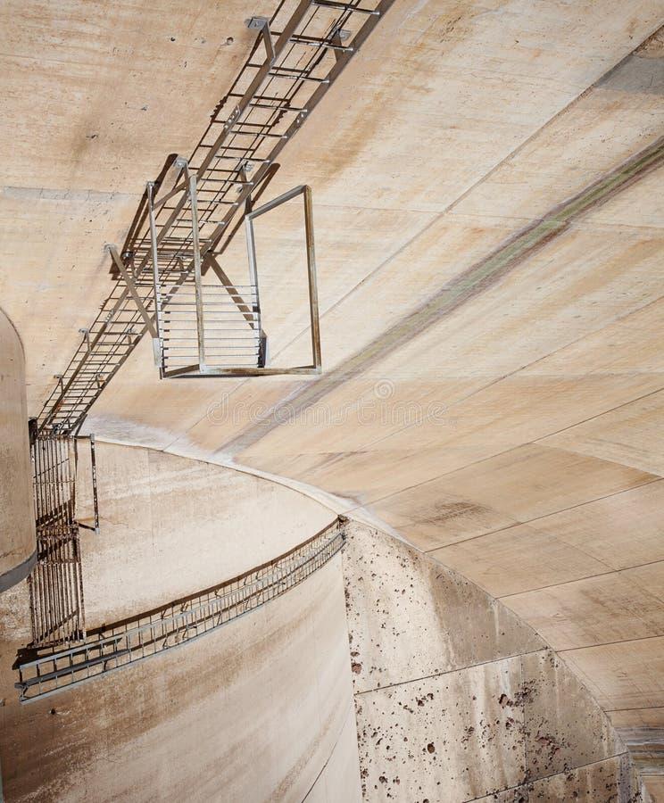 La diga di Hoover fotografia stock libera da diritti