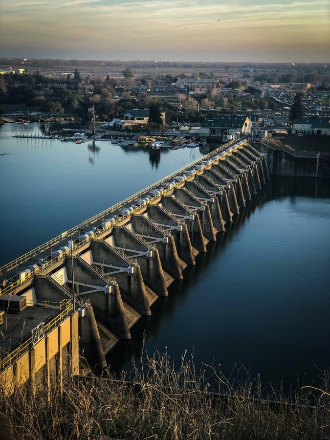 La diga di Nimbus trascura immagini stock libere da diritti