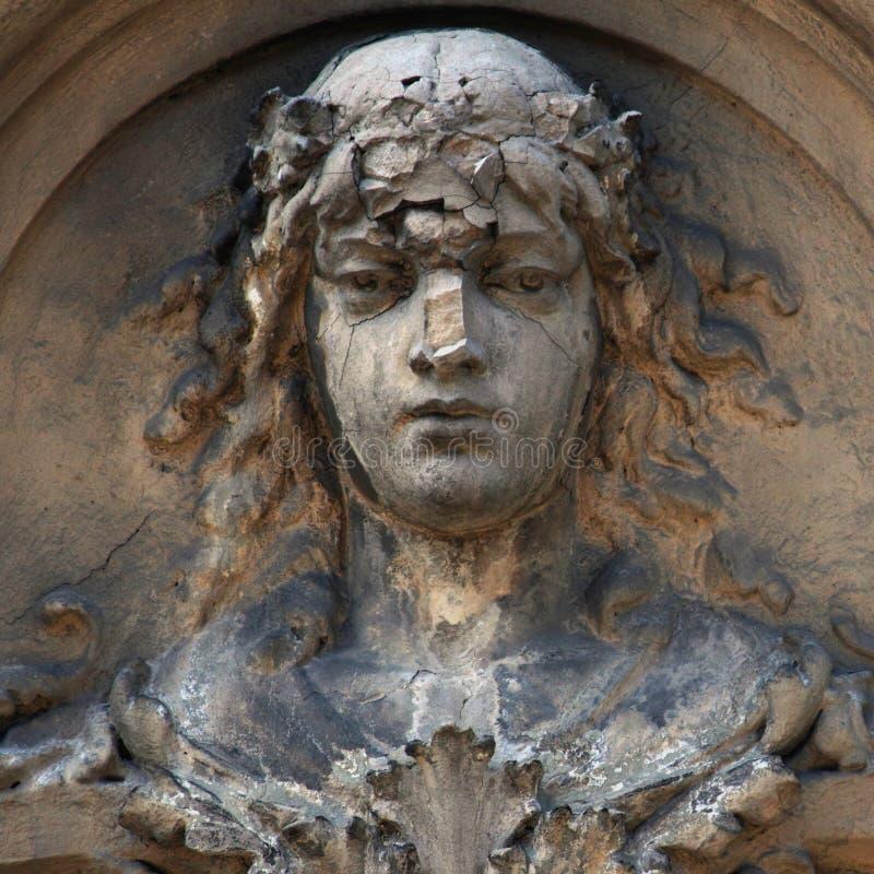 La diosa de la estatua antigua del Aphrodite del amor (Venus) fotografía de archivo
