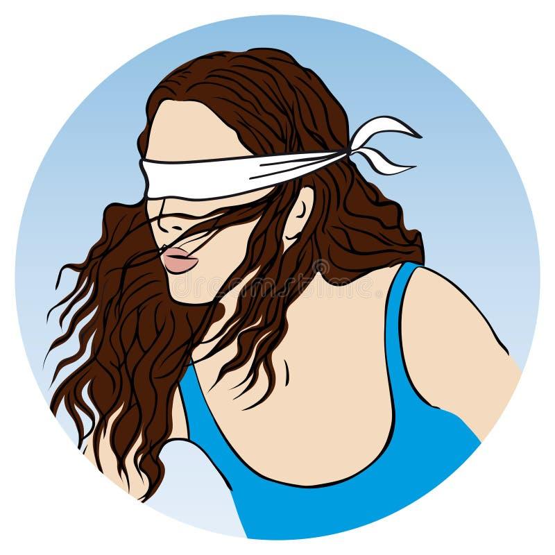 La diosa de la fortuna libre illustration